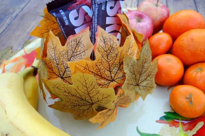 Decorative Fall Fruit Platter