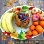 Making a Decorative Fall Fruit Platter in under $5 {A Kids DIY}