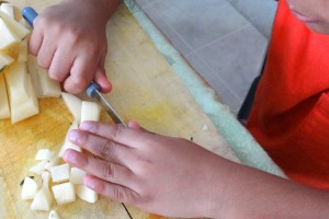 Encouraging a love for cooking in a child (2)