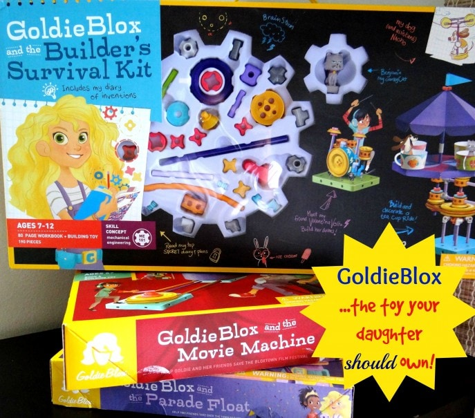 GoldieBlox the toy your daughter should own