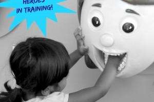 Healthy Habit Heroes In Training