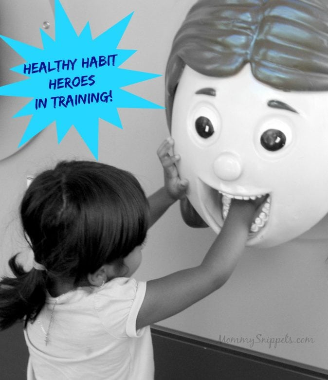 Healthy Habit Heroes In Training