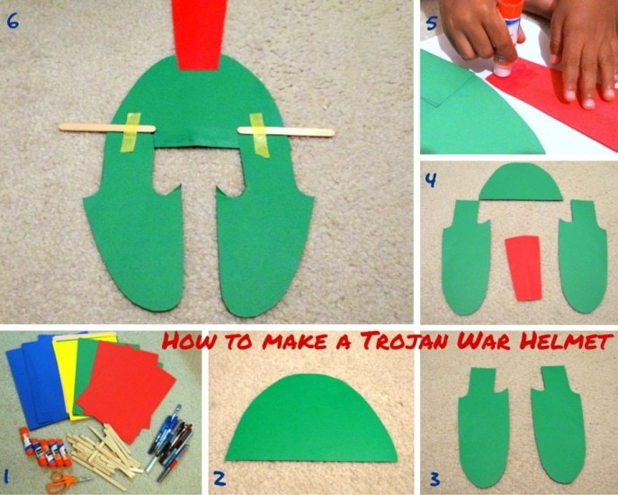 How to make a Trojan War Helmet