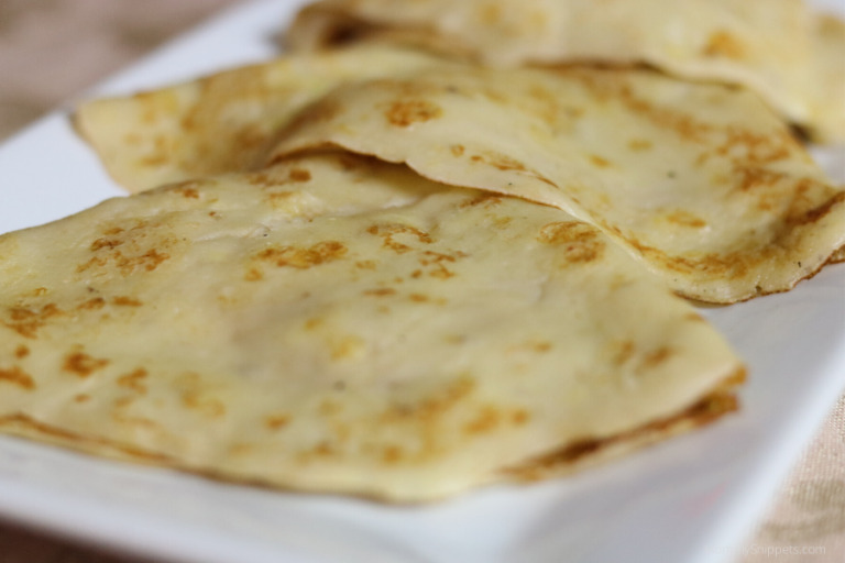 Easy Banana Crepes Recipe- What to Do With Ripe Bananas