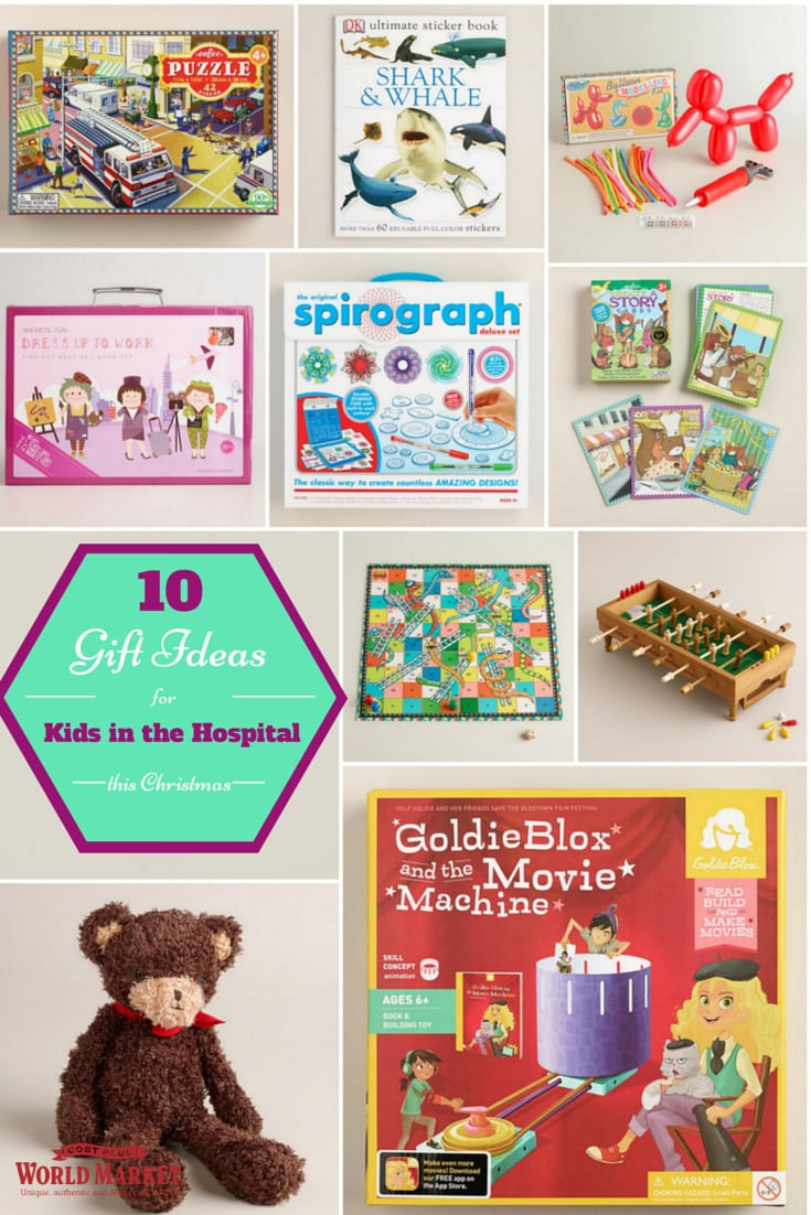 10 Gift Ideas for Kids in the hospital this Christmas - Mommy Snippets