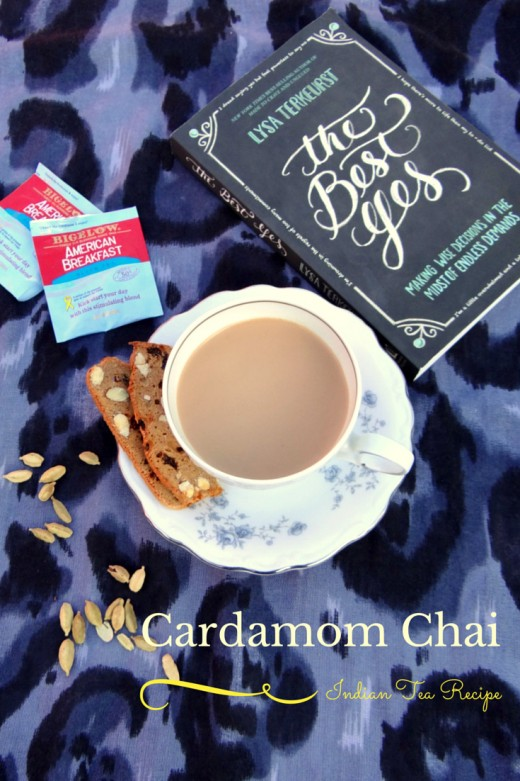 Cardamom Chai Recipe- Mommy Snippets