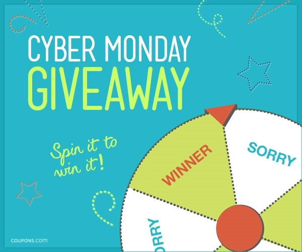 Cyber Monday Giveaway