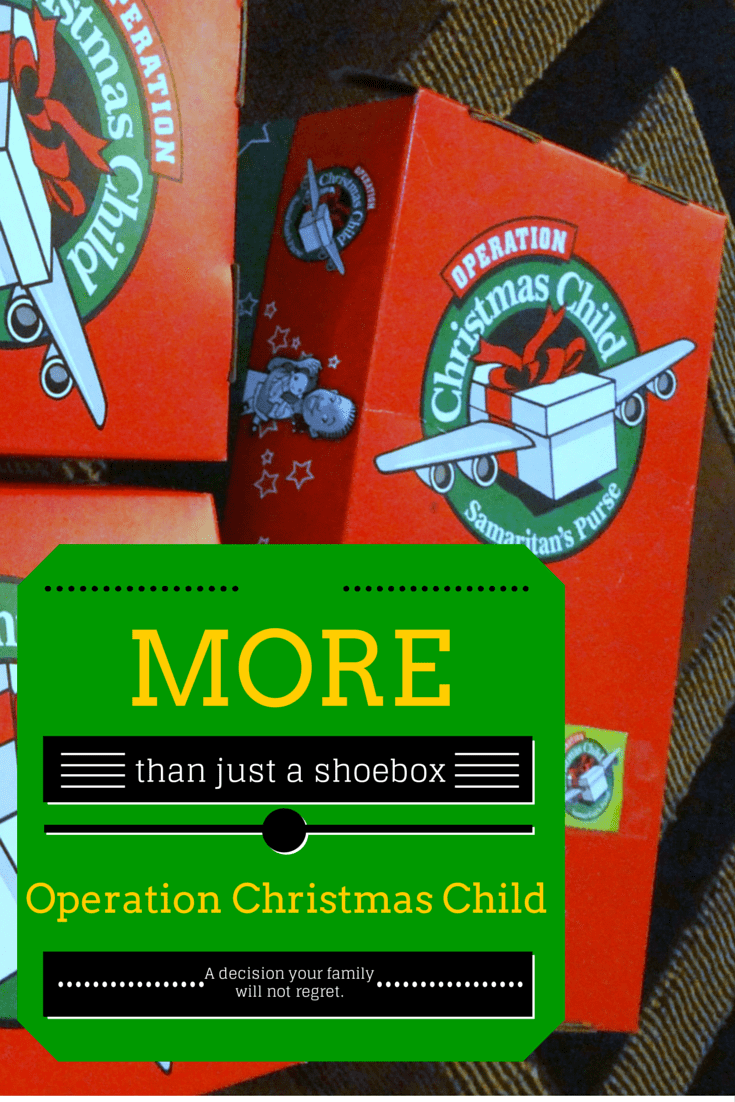 More than just a Shoebox. {Operation Christmas Child}