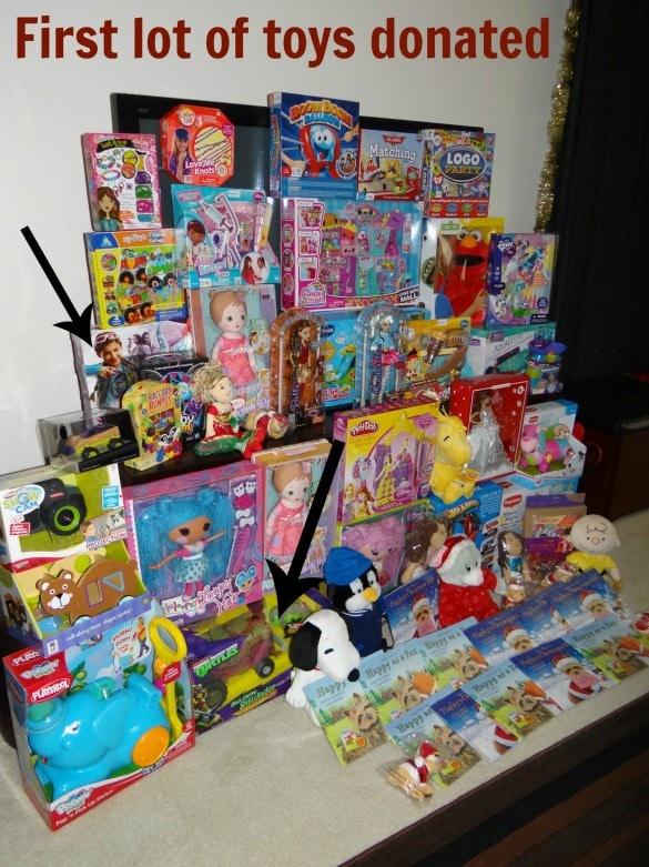 Giving Christmas Away 2013