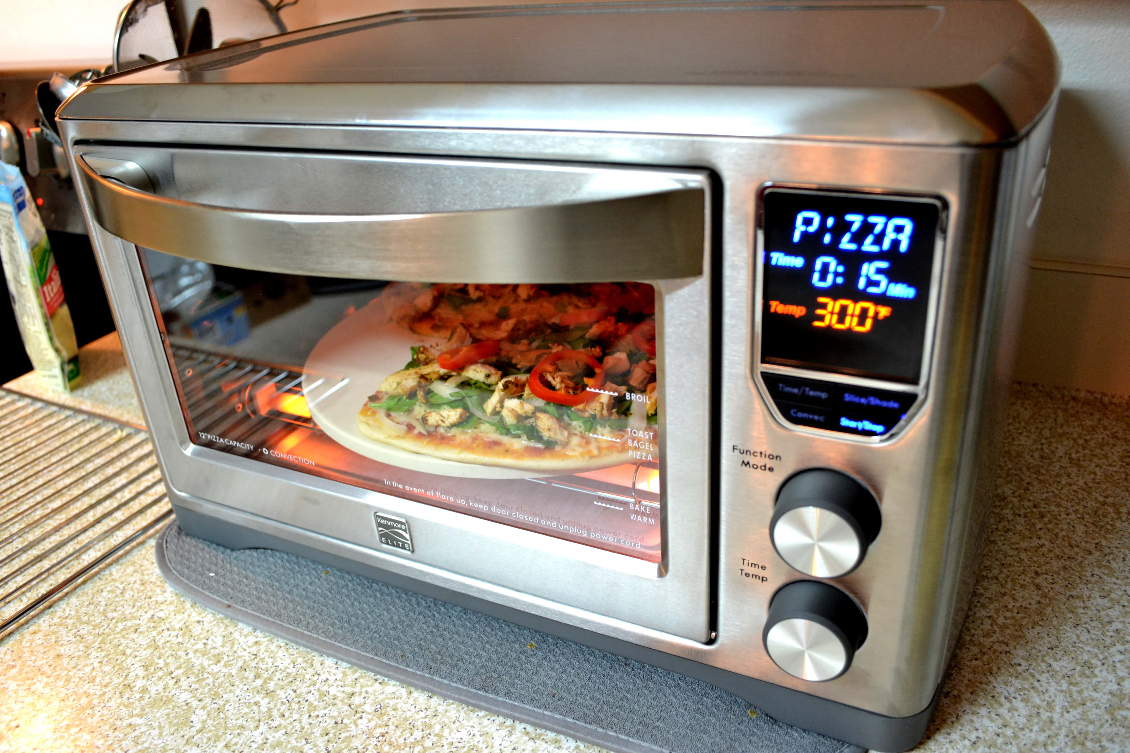 kenmore convection oven. convenience with the kenmore elite digital countertop convection oven - mommy snippets b