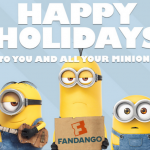 The Minions wish you a Merry Christmas {+ A #FamilyFandango Giveaway}