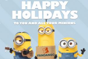 Minions – Holiday Greeting Card – Fandango   Fandango