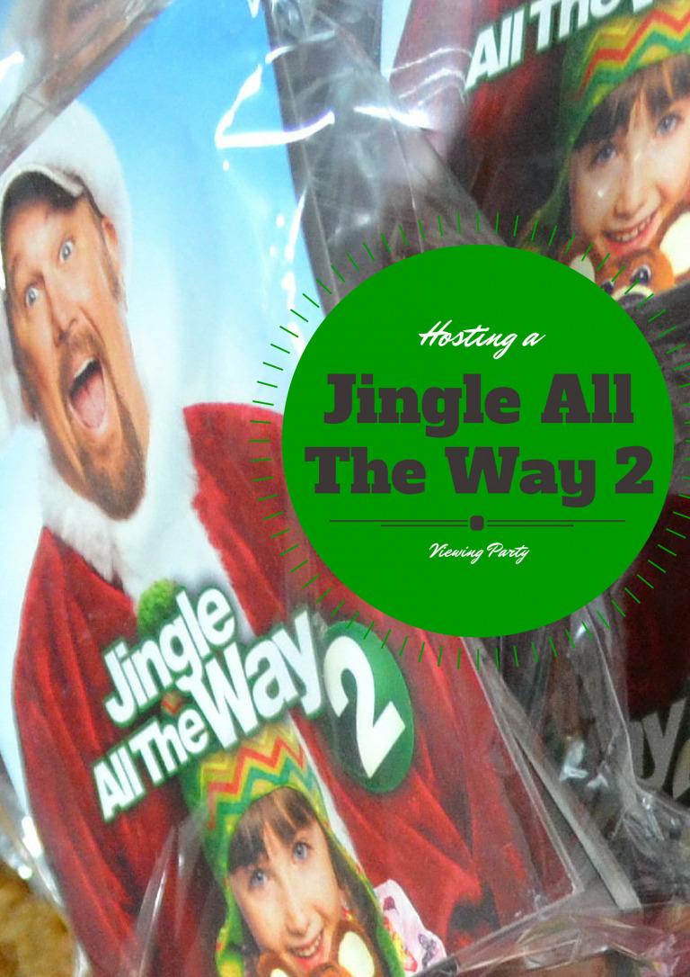 Hosting a Jingle All The Way 2 viewing party {+ A #JingleInsiders Banana Gingerbread Crumb Cake Recipe}