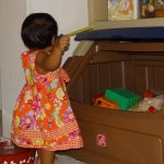 Why we chose the Step2 Lift and Hide Bookshelf Storage Chest