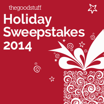 The Good Stuff Holiday Sweepstakes  Top Gift Ideas for 2014   thegoodstuff