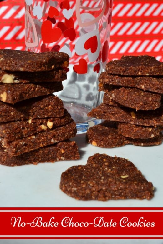 No-Bake Choco-Date Cookies- MommySnippets.com