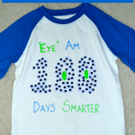 Easy DIY 100th Day Of School Shirt