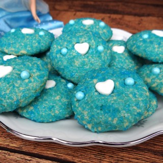 Cinderella's Almond Sparkle Cookies