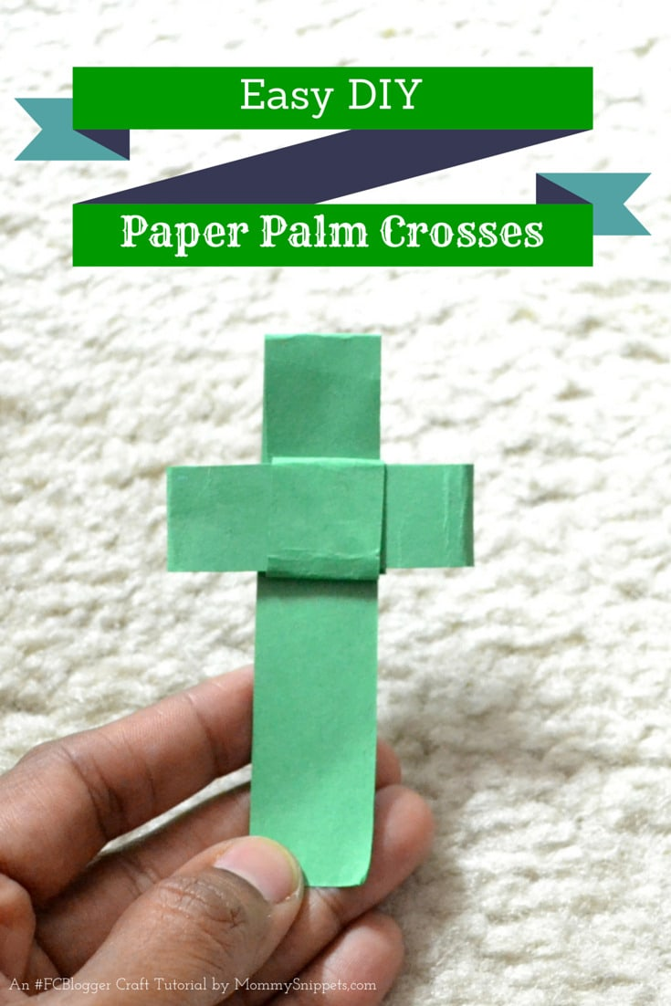 How to make a Palm Cross Out Of Paper for Palm Sunday