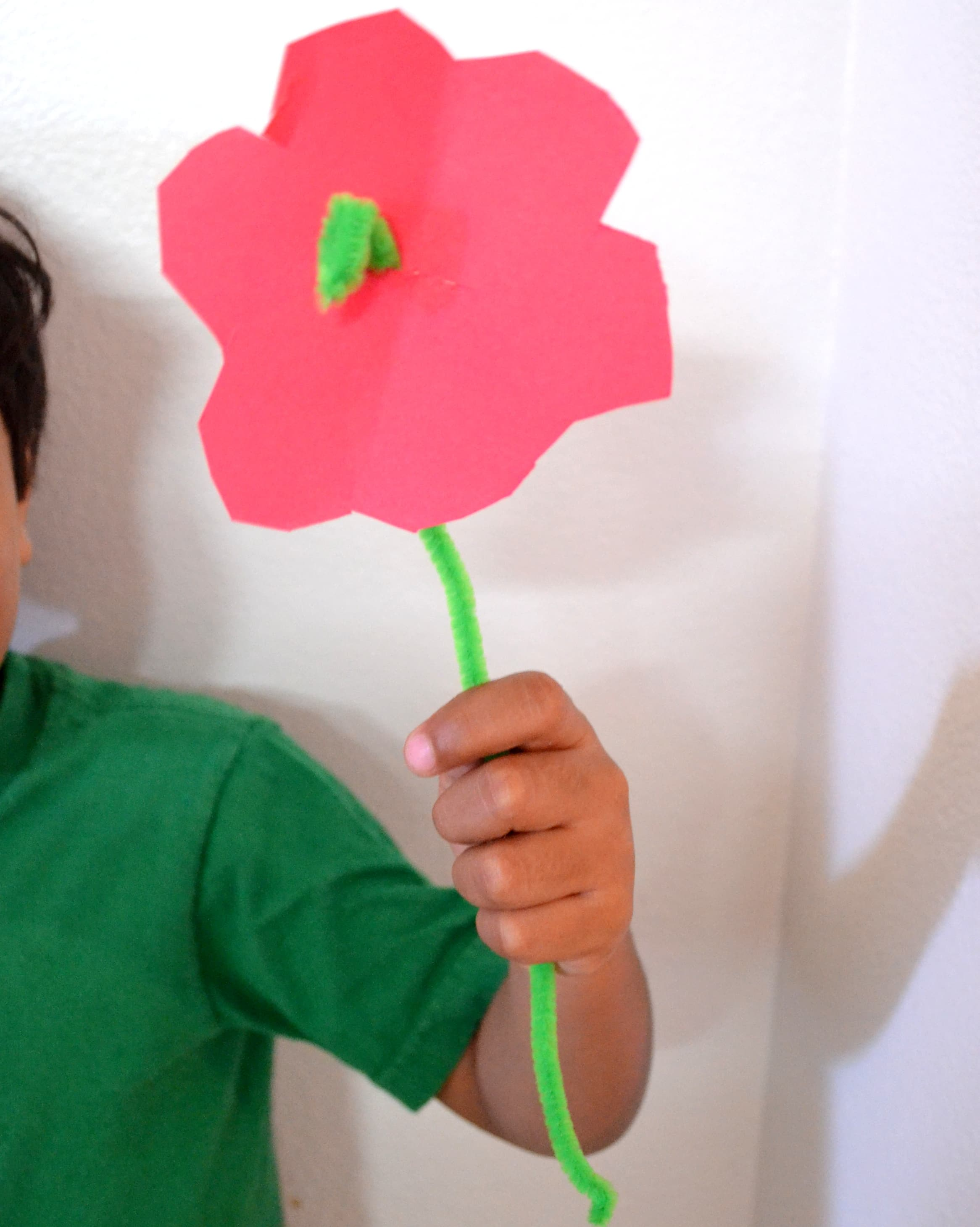 Easy DIY Pipe Cleaner Flower Craft for Kids - Mommy Snippets (5)