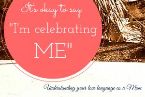 "It's okay to say ""I'm celebrating ME"""