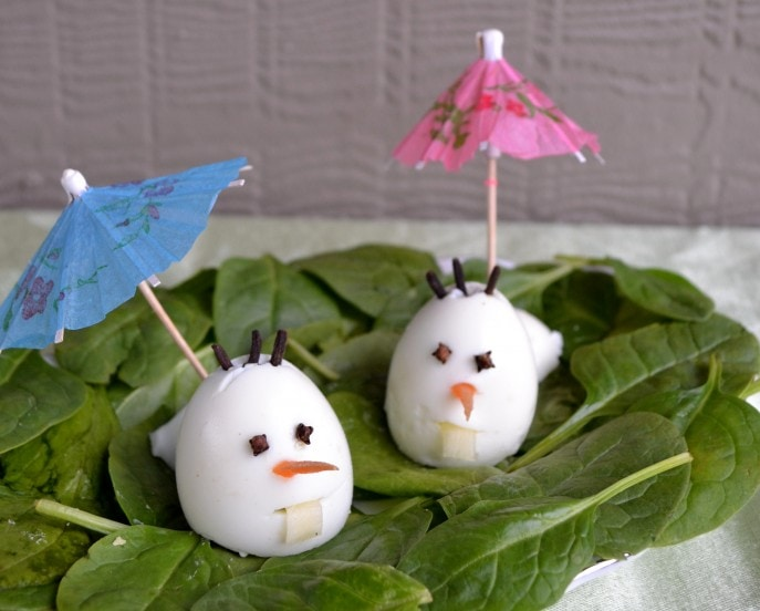 Olaf Inspired Eggmen for a FROZEN #DisneyEaster - Mommy Snippets (29)