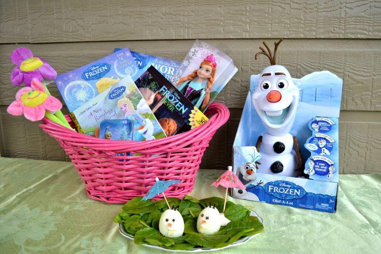 Olaf Inspired Egg Men for a FROZEN inspired treat. {#DisneyEaster}