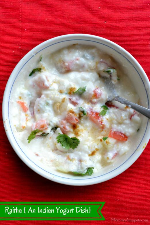 Raitha { An Indian Yogurt Dish} - Mommy Snippets