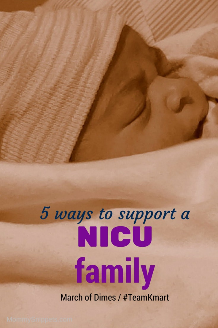 5 ways to support a NICU family