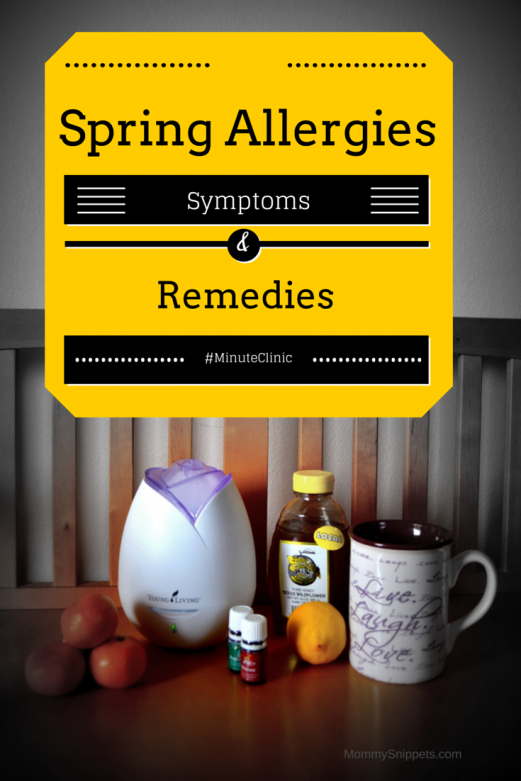 Spring Allergies- Symptoms and Remedies-Mommy Snippets