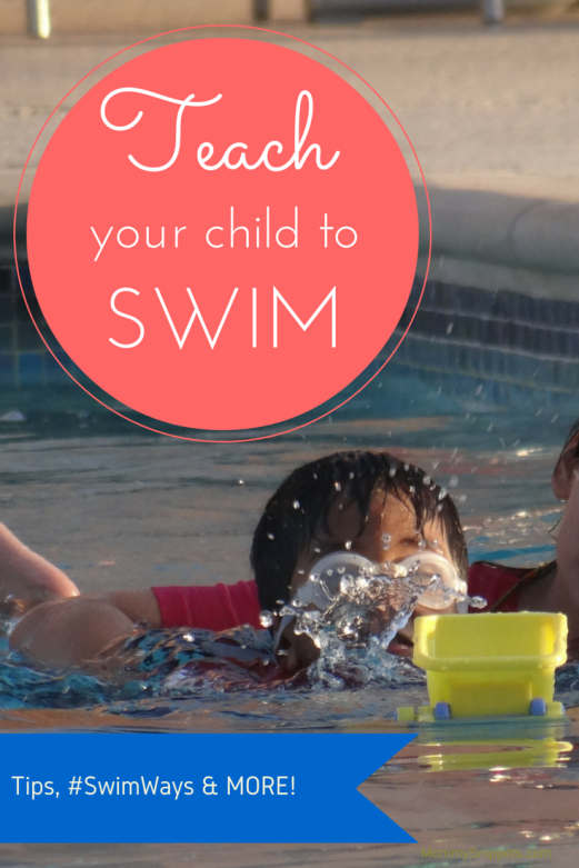 Teach your child to swim-MommySnippets.com