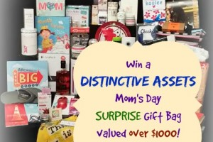 Win a Distinctive Assets Mom's Day Surprise Gift Bag (Valued over $1000)-Mommy Snippets hosted . Ends 5-24-2015