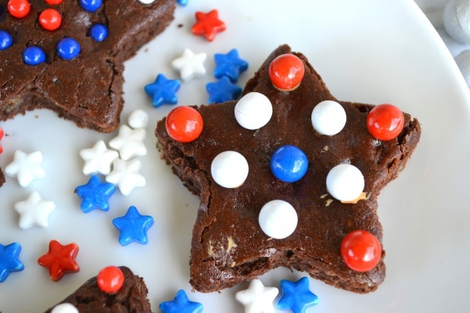 4th of July Brownies #SweetworksPatriotic - Mommy Snippets (4)