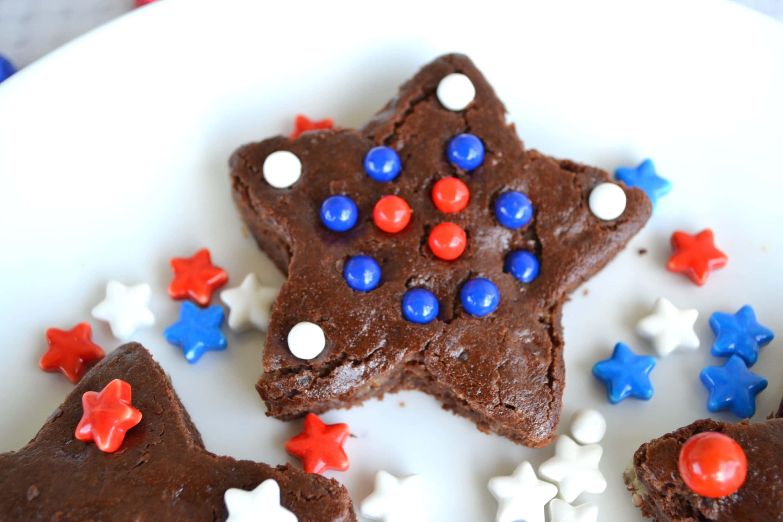 4th of July Brownies