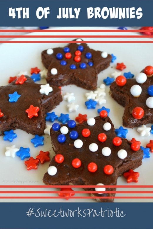 4th of July Brownies #SweetworksPatriotic -Mommy Snippets
