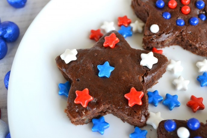 4th of July Brownies #SweetworksPatriotic - Mommy Snippets (6)