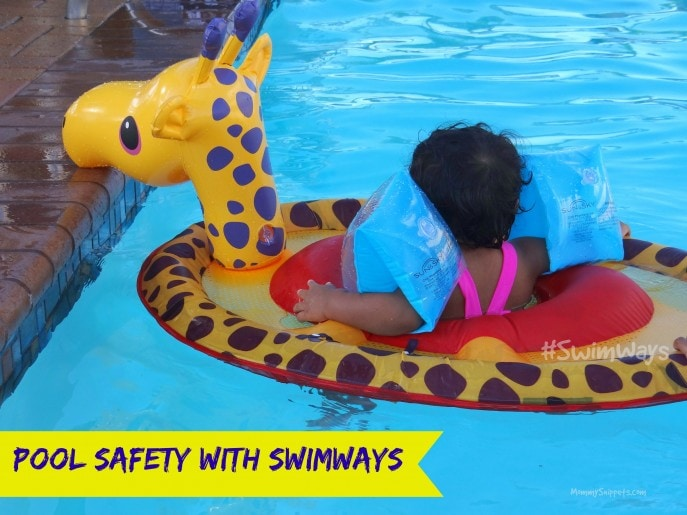 Pool Safety with SwimWays products- Mommy Snippets
