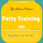 Potty Training 101 : Tips from Moms