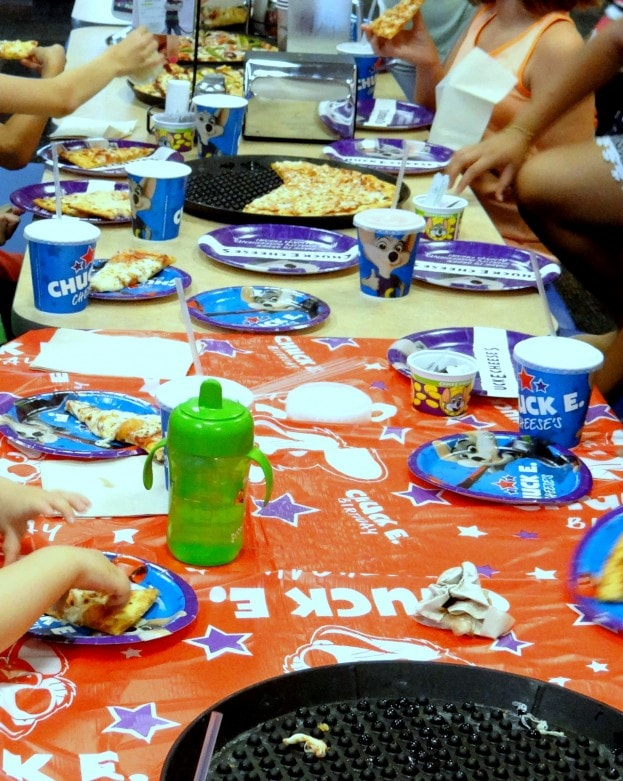 Reasons to book your child's birthday party at Chuck E. Cheese's- Mommy Snippets (365)