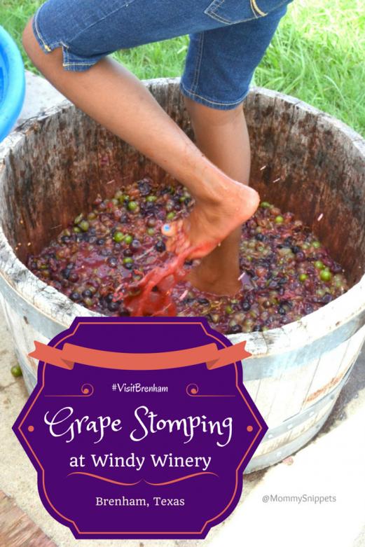 Grape_stomping_Windy_Winery_Brenham_Texas_#VisitBrenham_Travel - MommySnippets