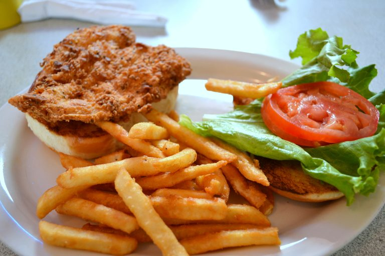 The 50's styled Southern Flyer Diner in Brenham, Texas {#VisitBrenham}