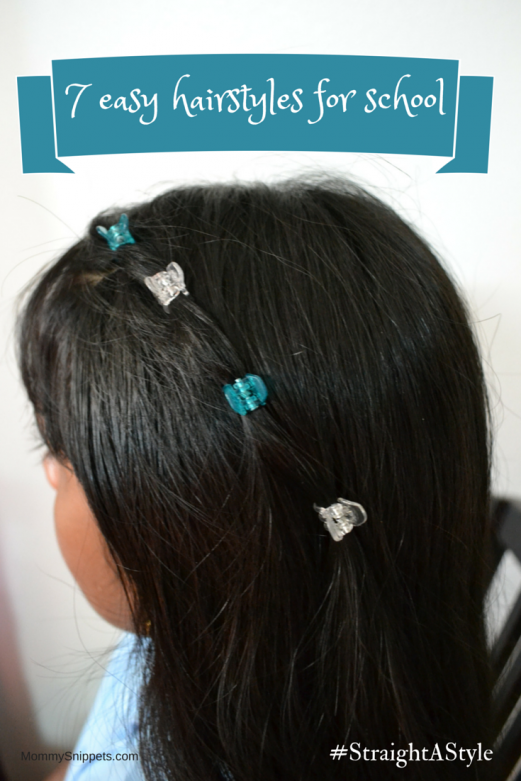 7 easy hairstyles for school {#StraightAStyle} - Mommy ...
