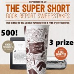 Chipotle's SUPER SHORT Book Report Sweeps (Ends 9/23- 50 Daily Winners!)