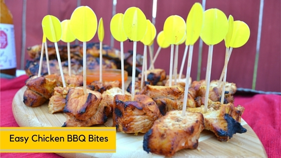 Easy Chicken BBQ Bites- Mommy Snippets