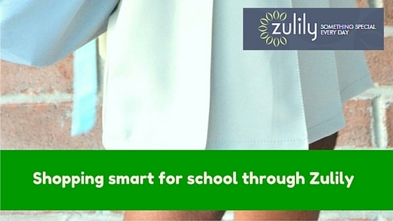Shopping smart for school through Zulily- Mommy Snippets- #Sponsored