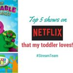 Top 5 shows on Netflix that my toddler loves