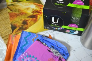 3 ways to be prepared for Aunt Flo each month {#UbyKotexSweeps} #Ad (1)
