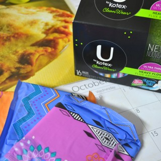 3 ways to be prepared for Aunt Flo each month {#UbyKotexSweeps : Ends 10/3}