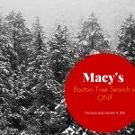 Macy's Boston Tree search is on! {Ends October 9, 2015}