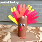 Thankful Turkey Toilet Paper Roll Craft